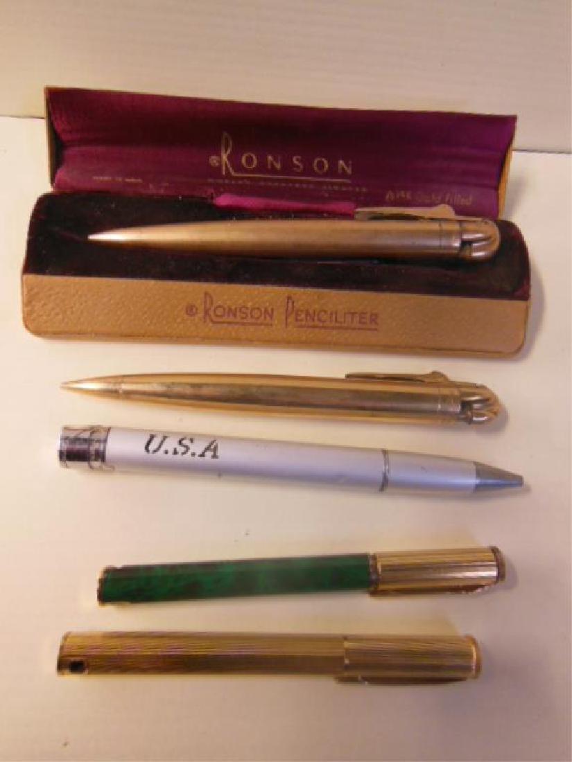 Vintage Pencil & Pen Form Lighters
