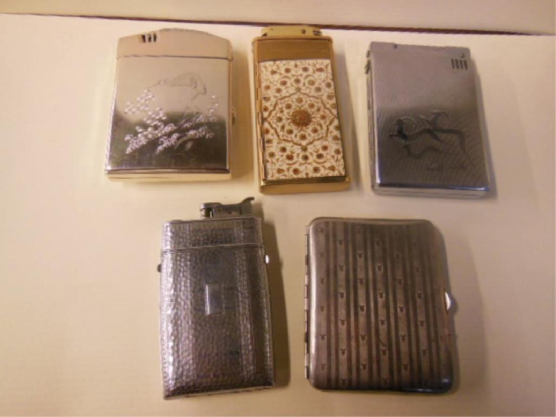 5 Vintage Cigarette Cases