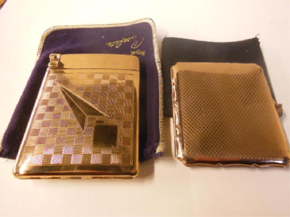 2 Vintage Cigarette Cases