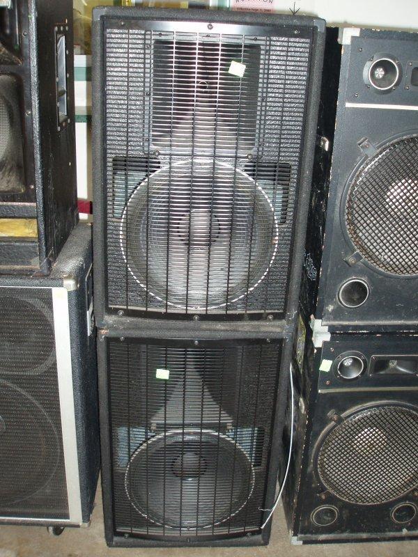 1003: Electro Voice speakers
