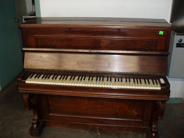 1020: Mussard Aine' Upright Piano