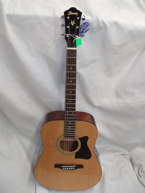 1073: Ibanez 6 string acoustic guitar