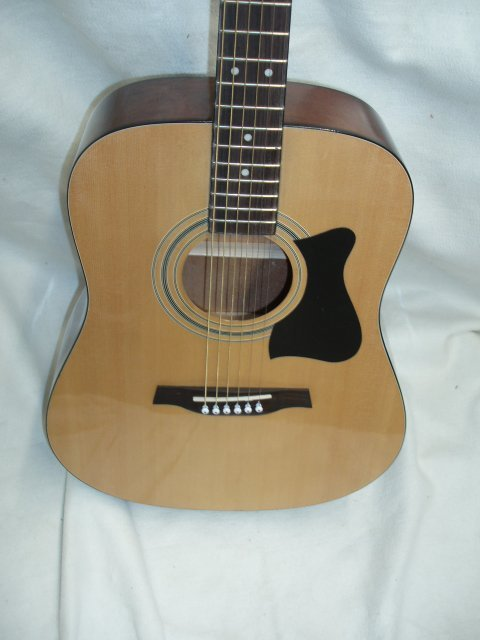 1073: Ibanez 6 string acoustic guitar - 3
