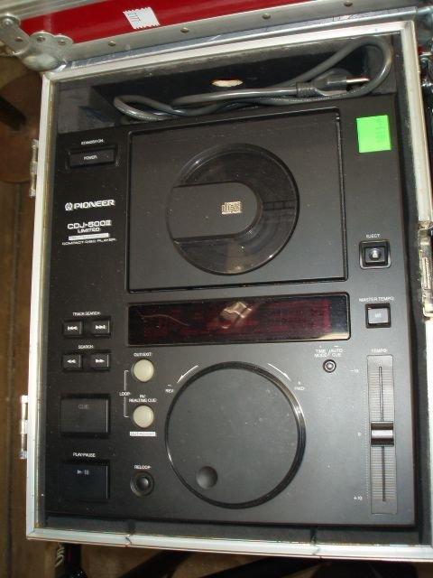 1011A: Pioneer CDJ-500 II Compact Disc Player