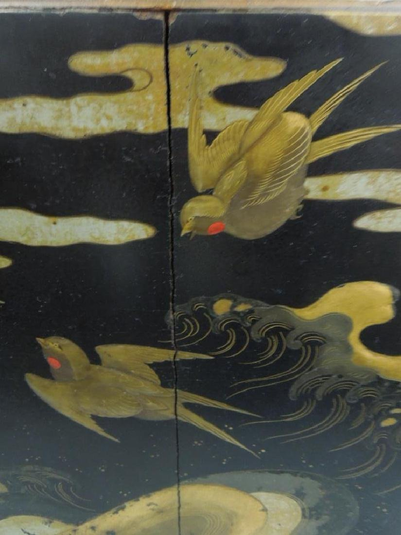 Japanese Lacquered Jewel Cabinet - 12