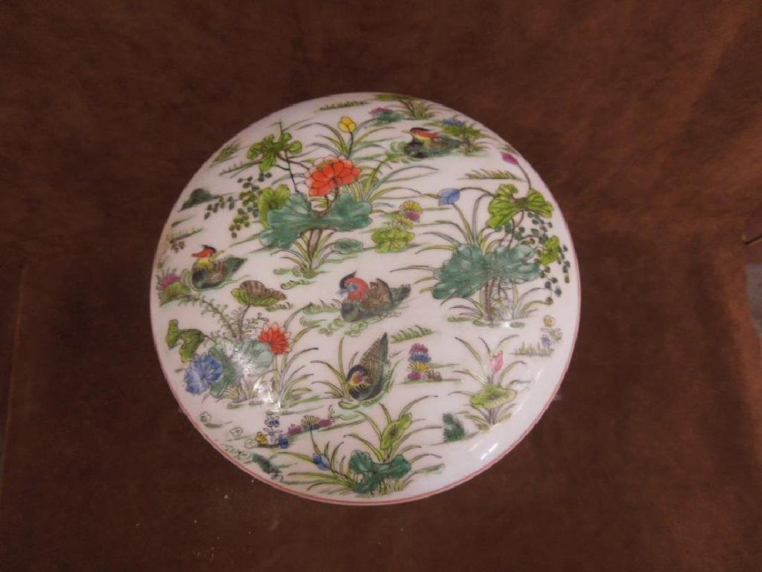 Chinese Porcelain Large Covered Box - 2