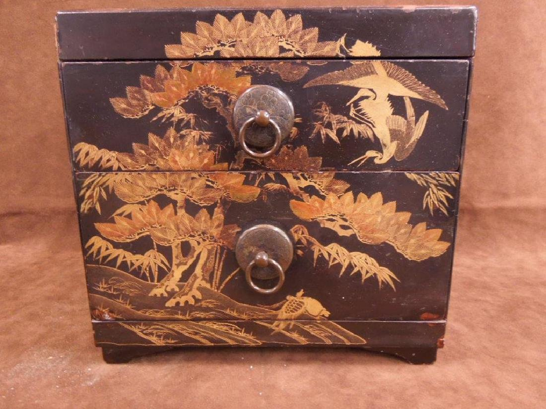 Chinese Lacquered Box - 2