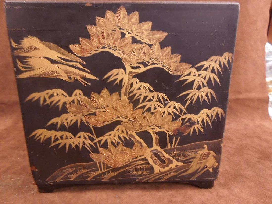 Chinese Lacquered Box - 3