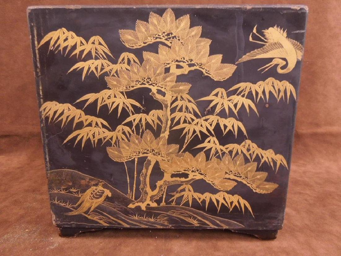 Chinese Lacquered Box - 4