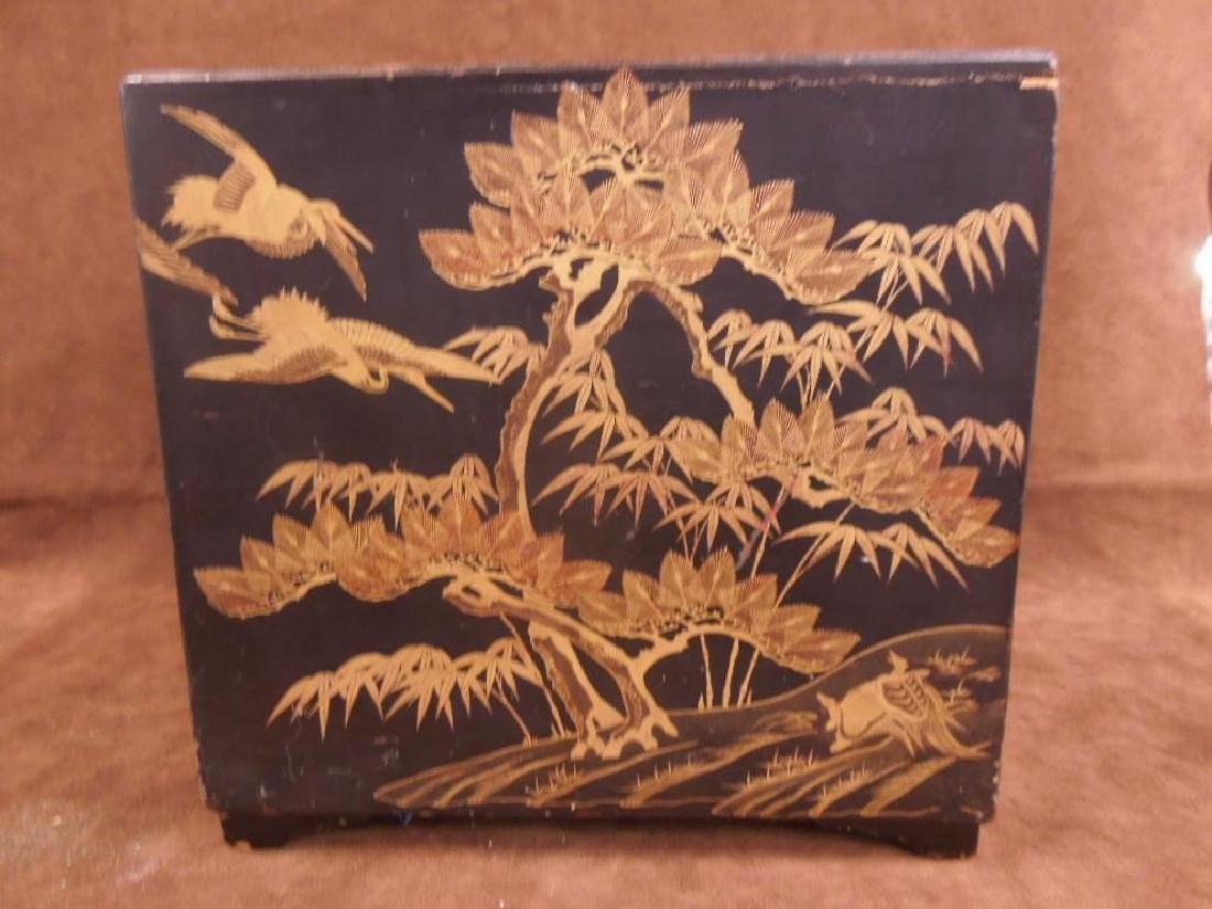 Chinese Lacquered Box - 5
