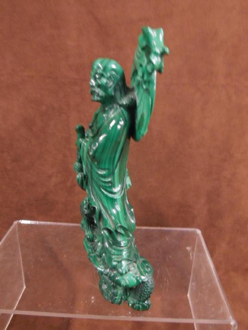 Chinese Malachite Carving - 12
