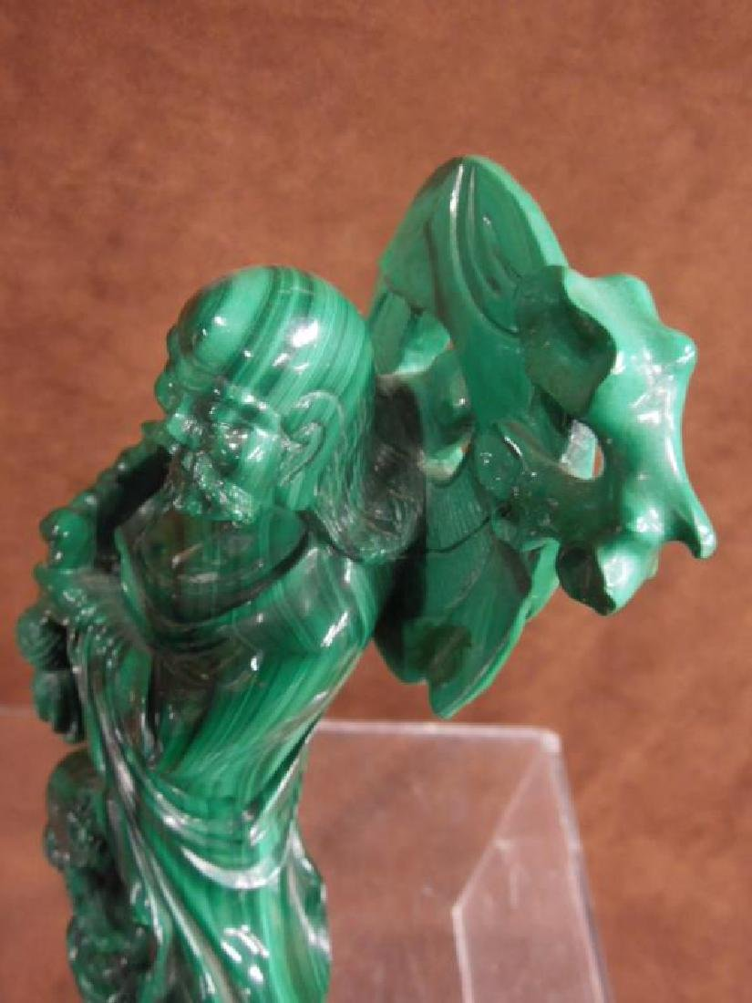 Chinese Malachite Carving - 13