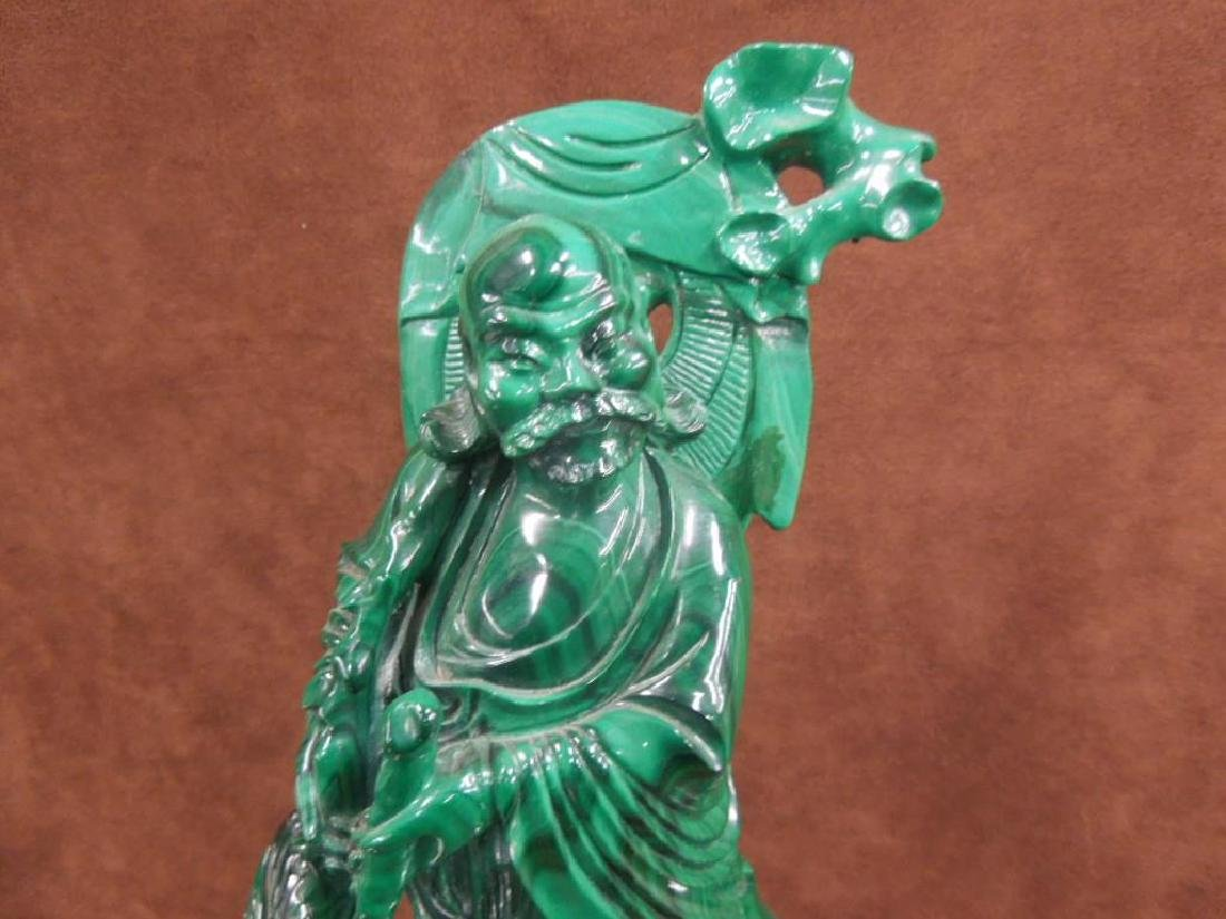 Chinese Malachite Carving - 2