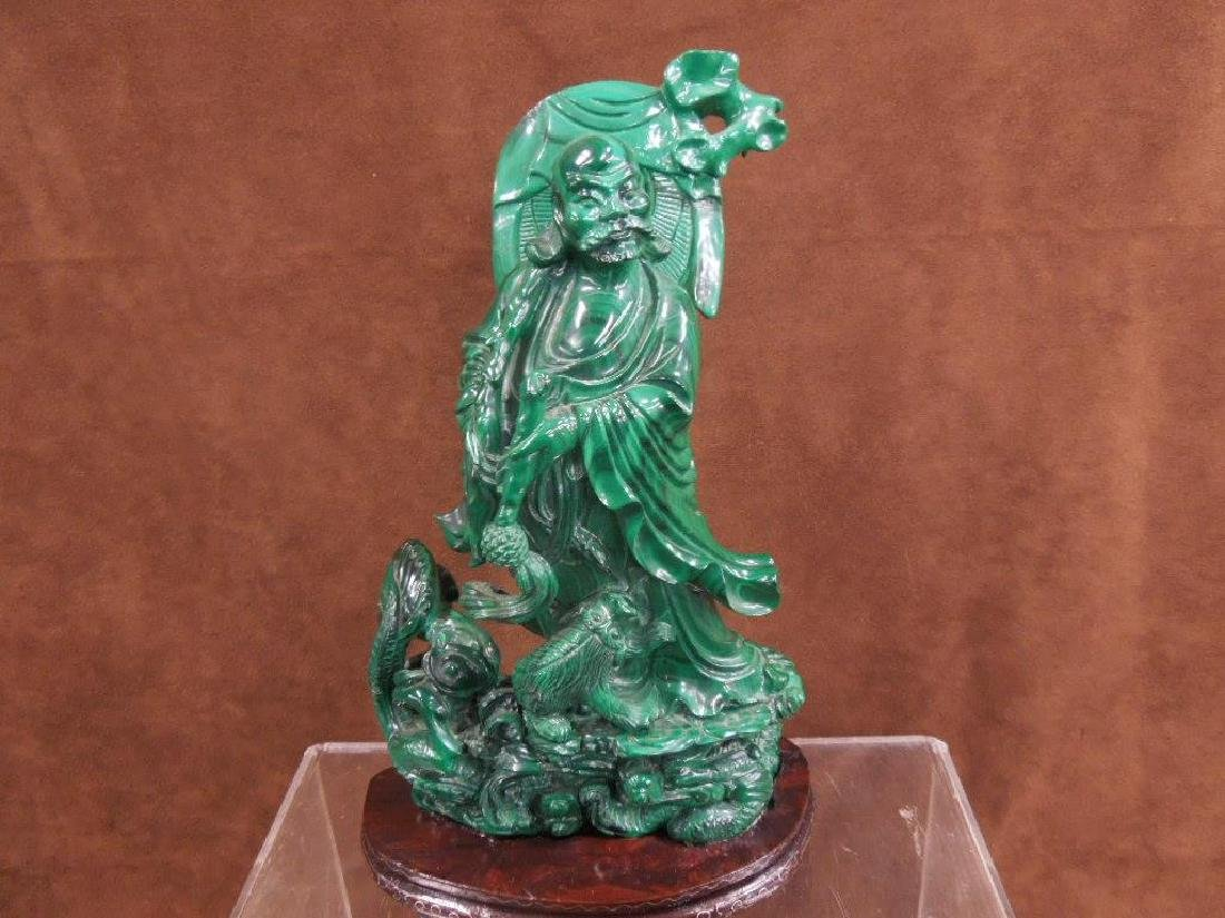 Chinese Malachite Carving - 4