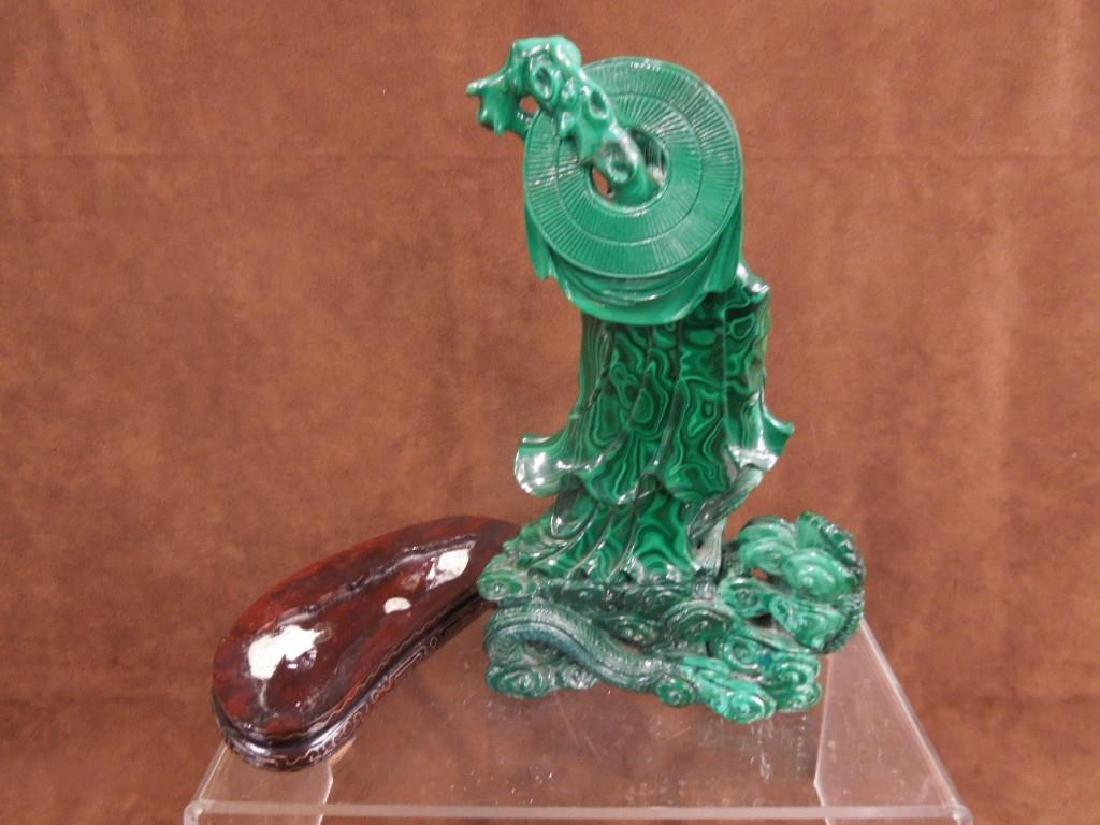 Chinese Malachite Carving - 8