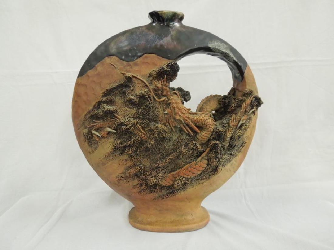Rare Sumithira Dragon Vase