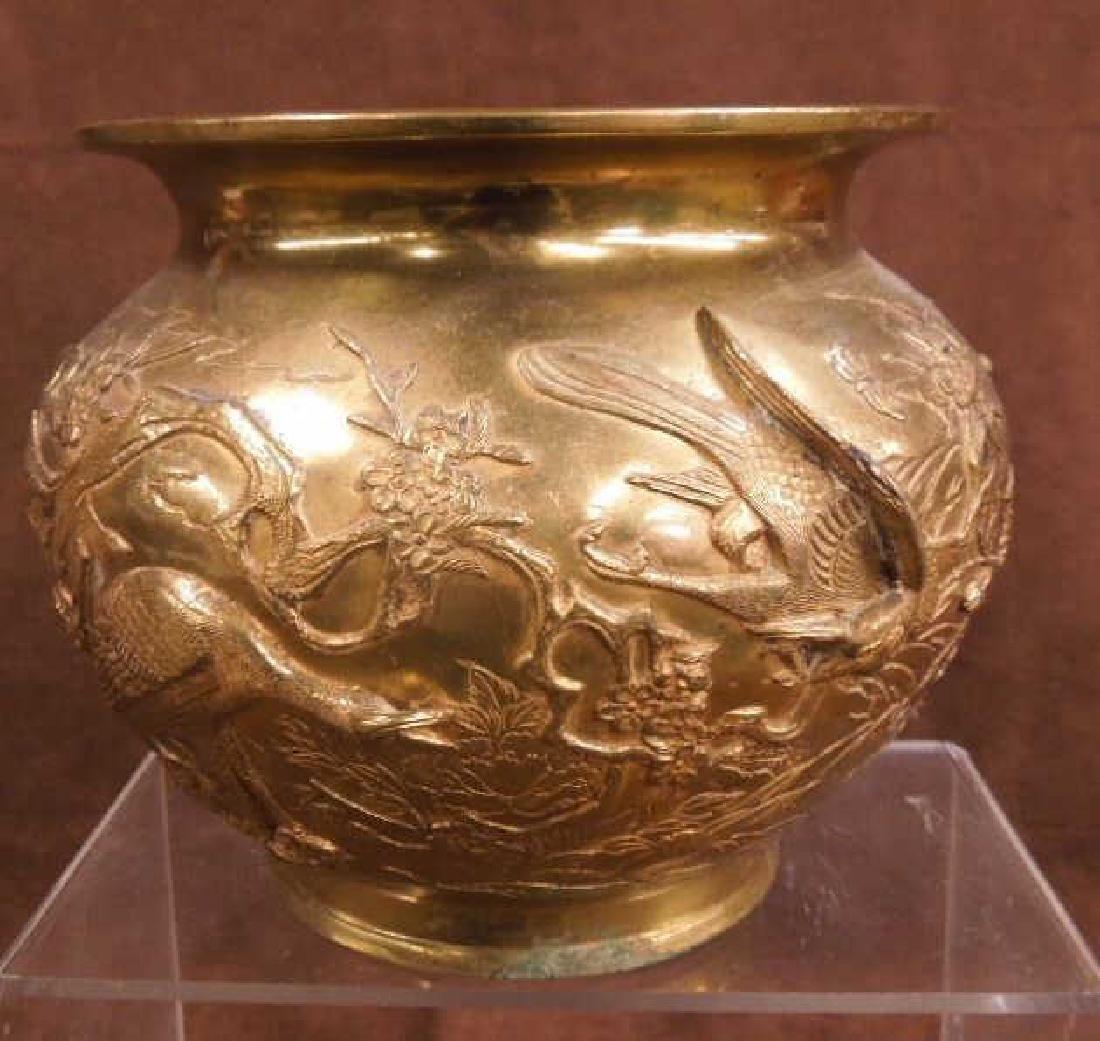 Chinese Bronze Jardiniere