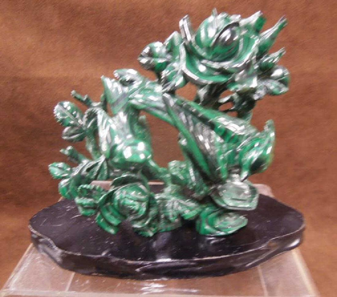 Chinese Malachite Carving