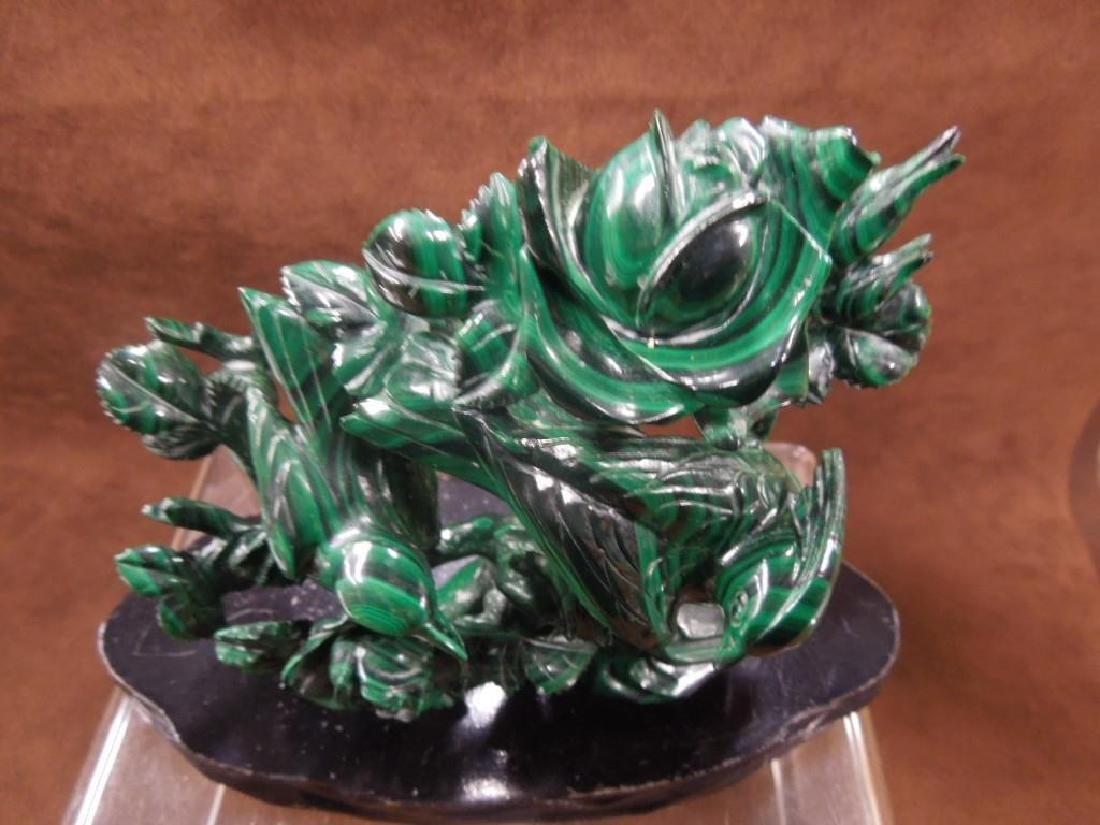 Chinese Malachite Carving - 3