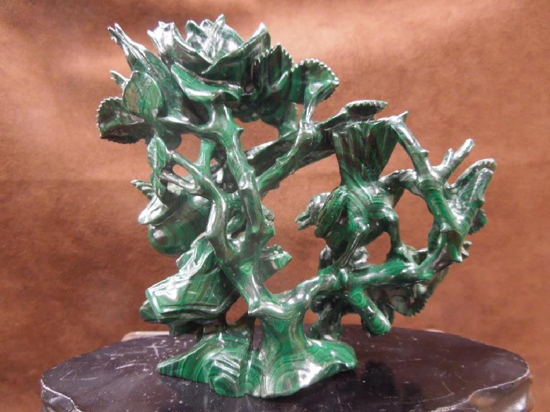 Chinese Malachite Carving - 5