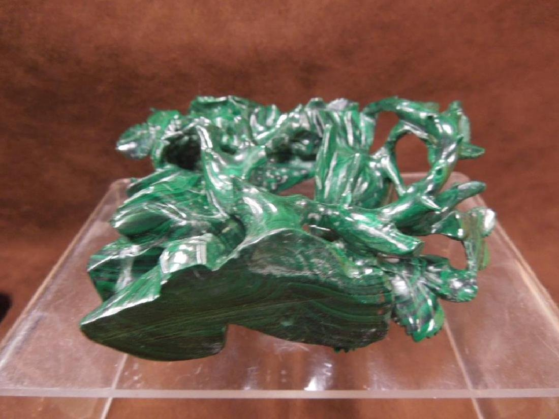 Chinese Malachite Carving - 6