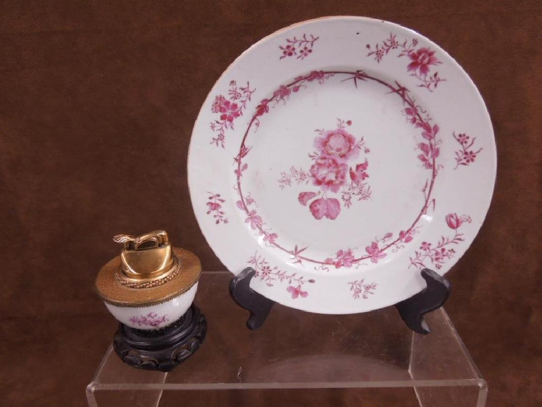 Chinese Export Bowl, Dish & Cup - 2