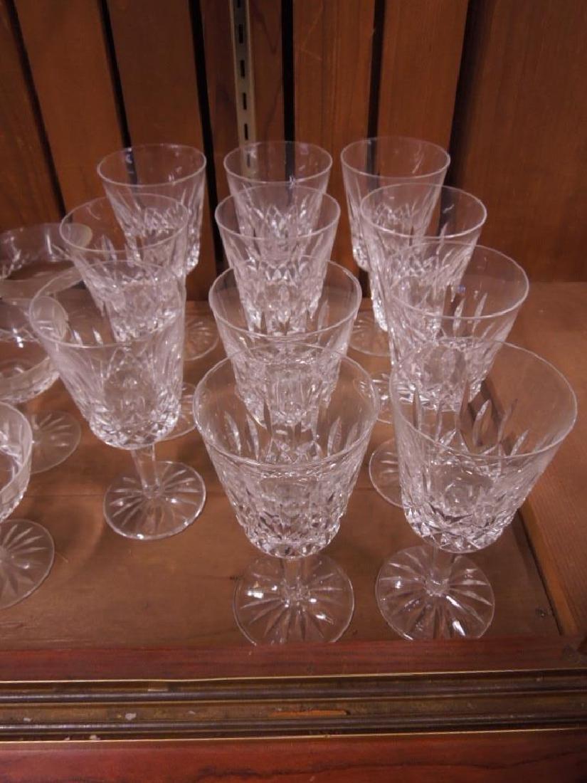 34 Pieces Waterford Crystal Stemware - 3