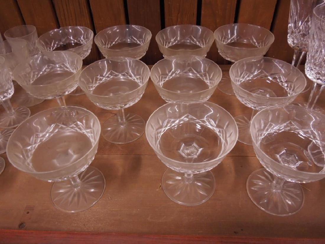 34 Pieces Waterford Crystal Stemware - 4