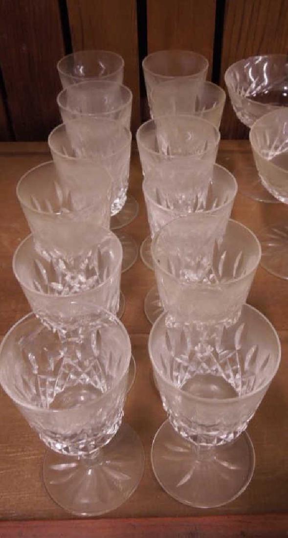 34 Pieces Waterford Crystal Stemware - 5