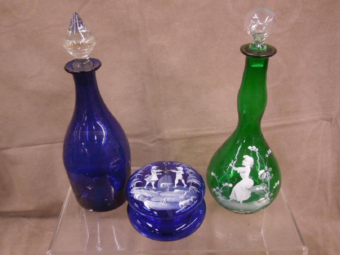 6 Colored Glass Grouping - 3