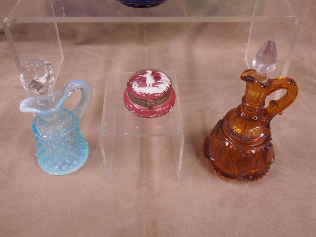 6 Colored Glass Grouping - 4