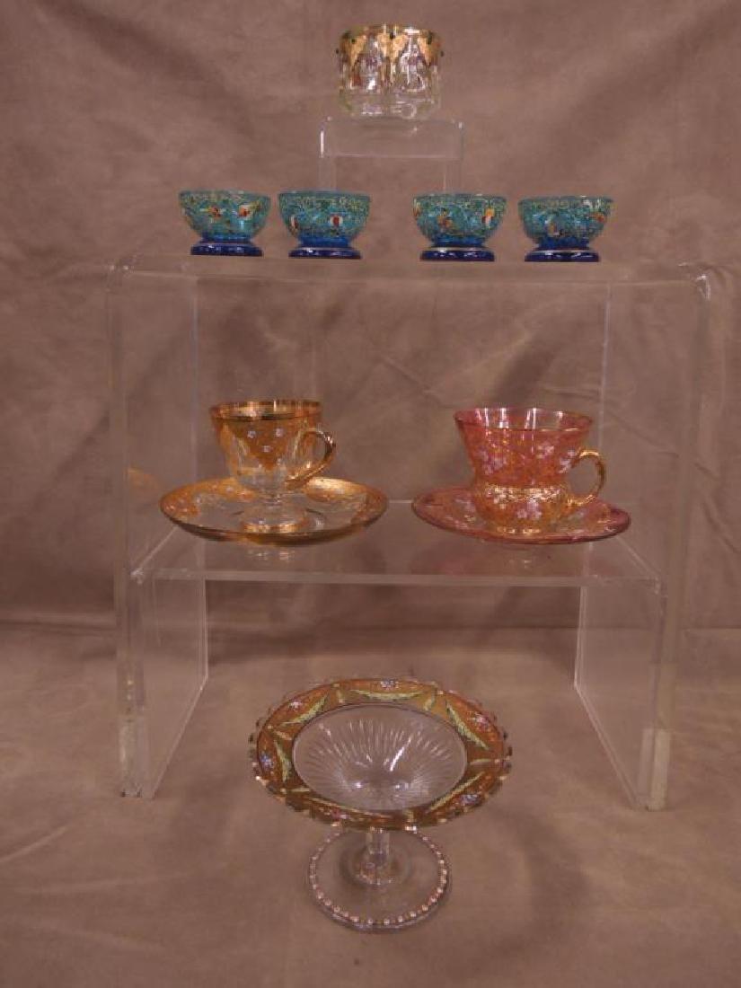 Moser Type Glassware