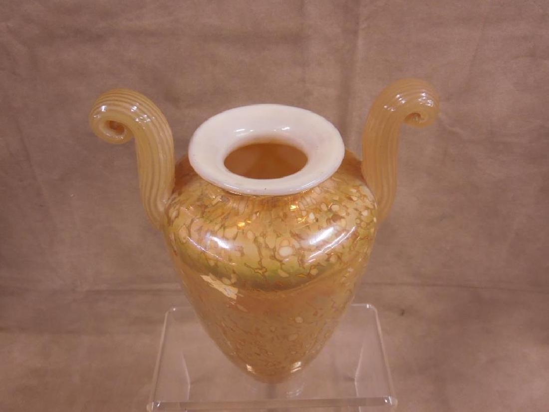 Melanee Guernsey Art Glass Vase - 2