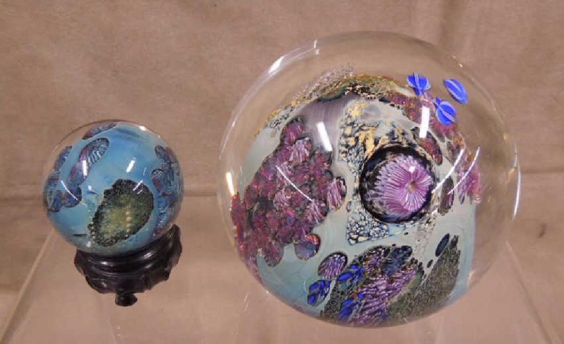 3 Simpson Art Glass Pieces - 2