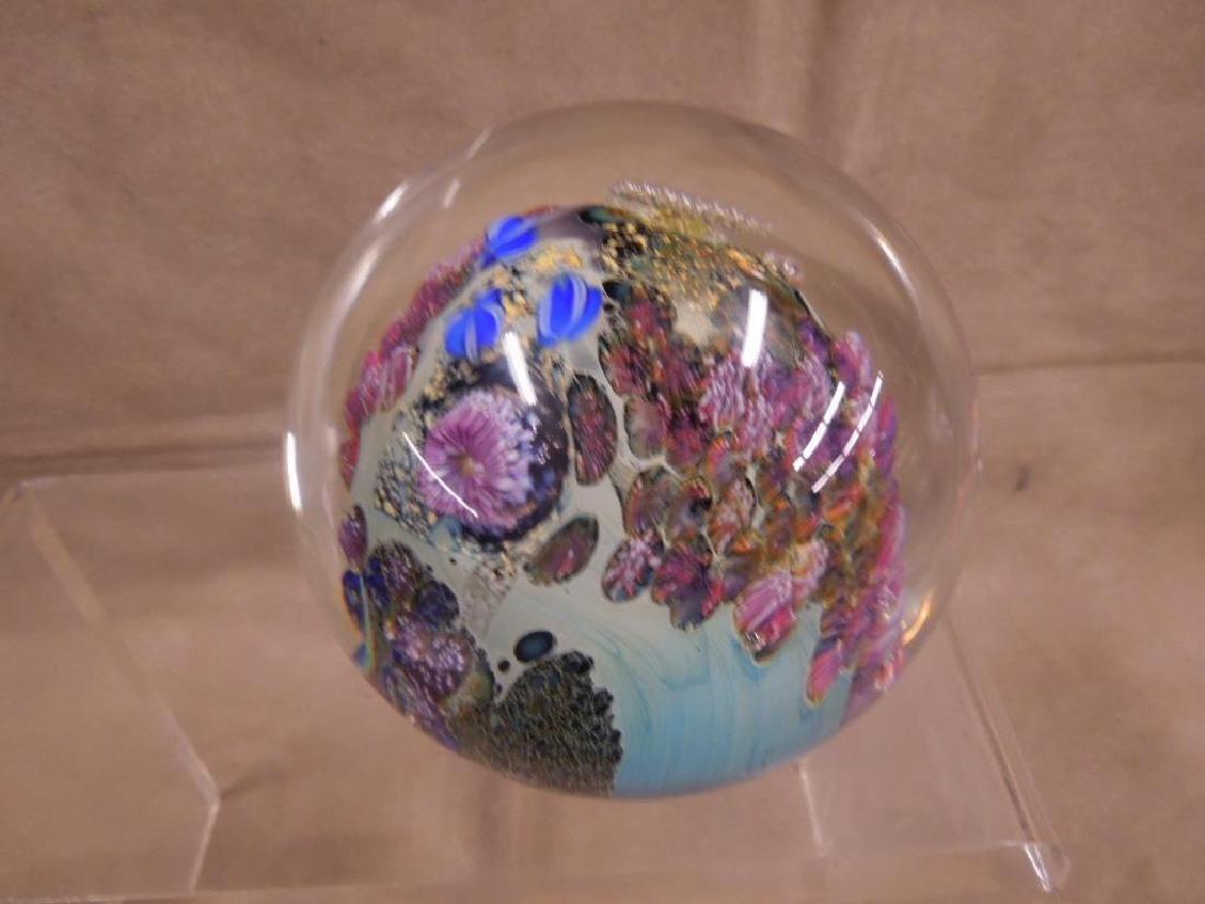 3 Simpson Art Glass Pieces - 3