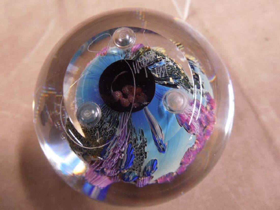 3 Simpson Art Glass Pieces - 4