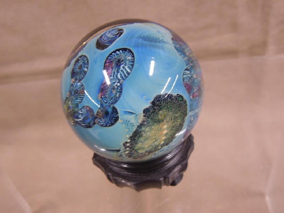 3 Simpson Art Glass Pieces - 6