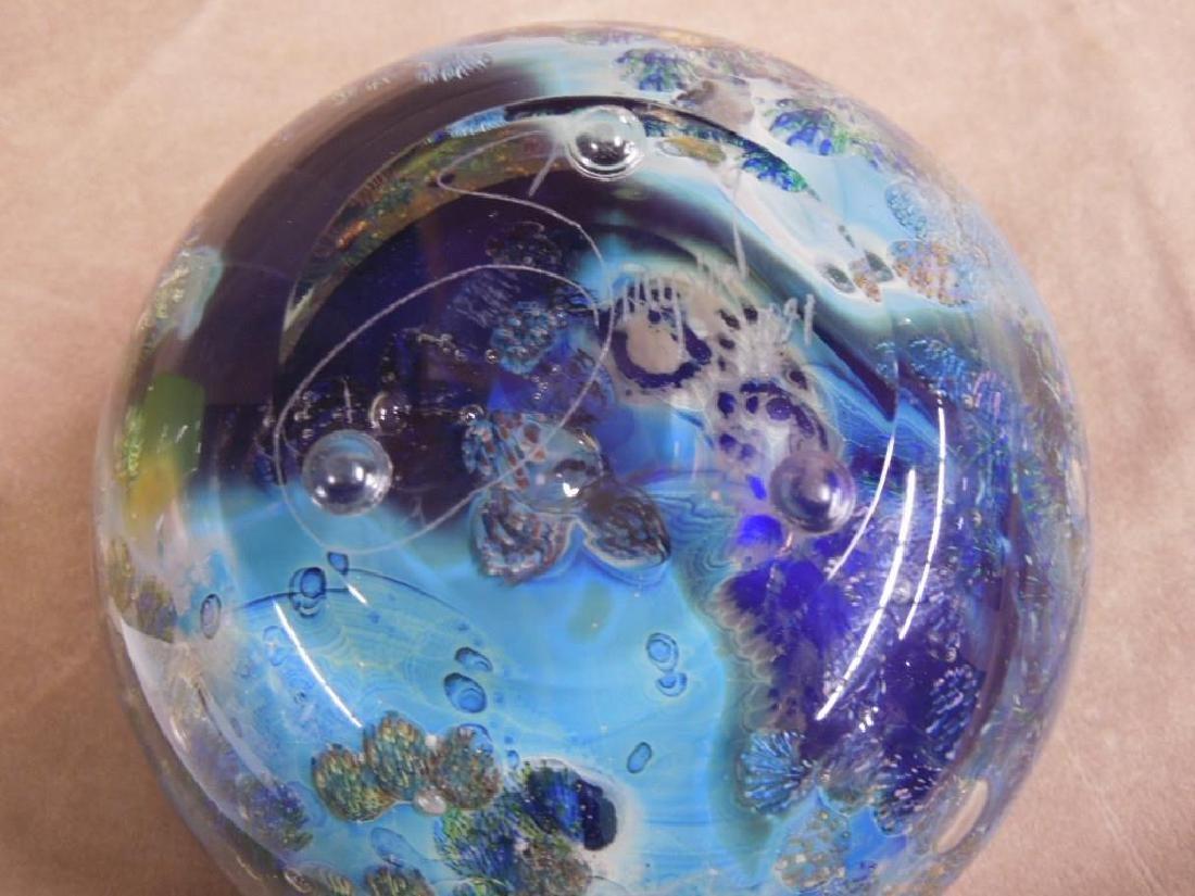 3 Simpson Art Glass Pieces - 9