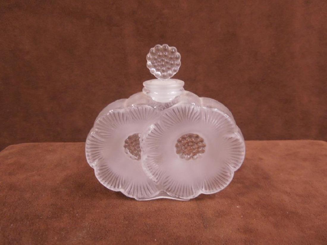 Lalique Deux Fleurs Perfume Bottle