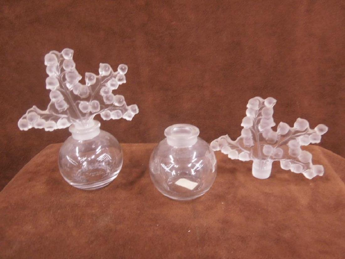 Pa Lalique Clairefontaine Perfume bottles - 2