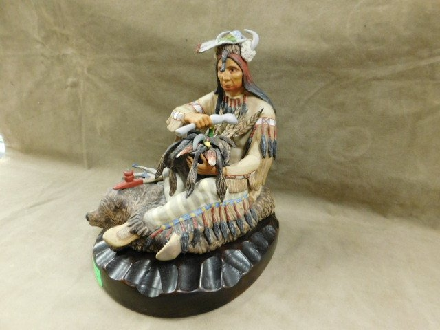 Cybis Seated Indian - 2