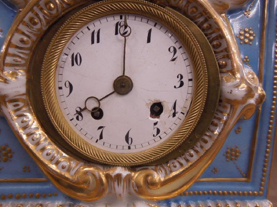 Fraye Figural Porcelain Clock - 5
