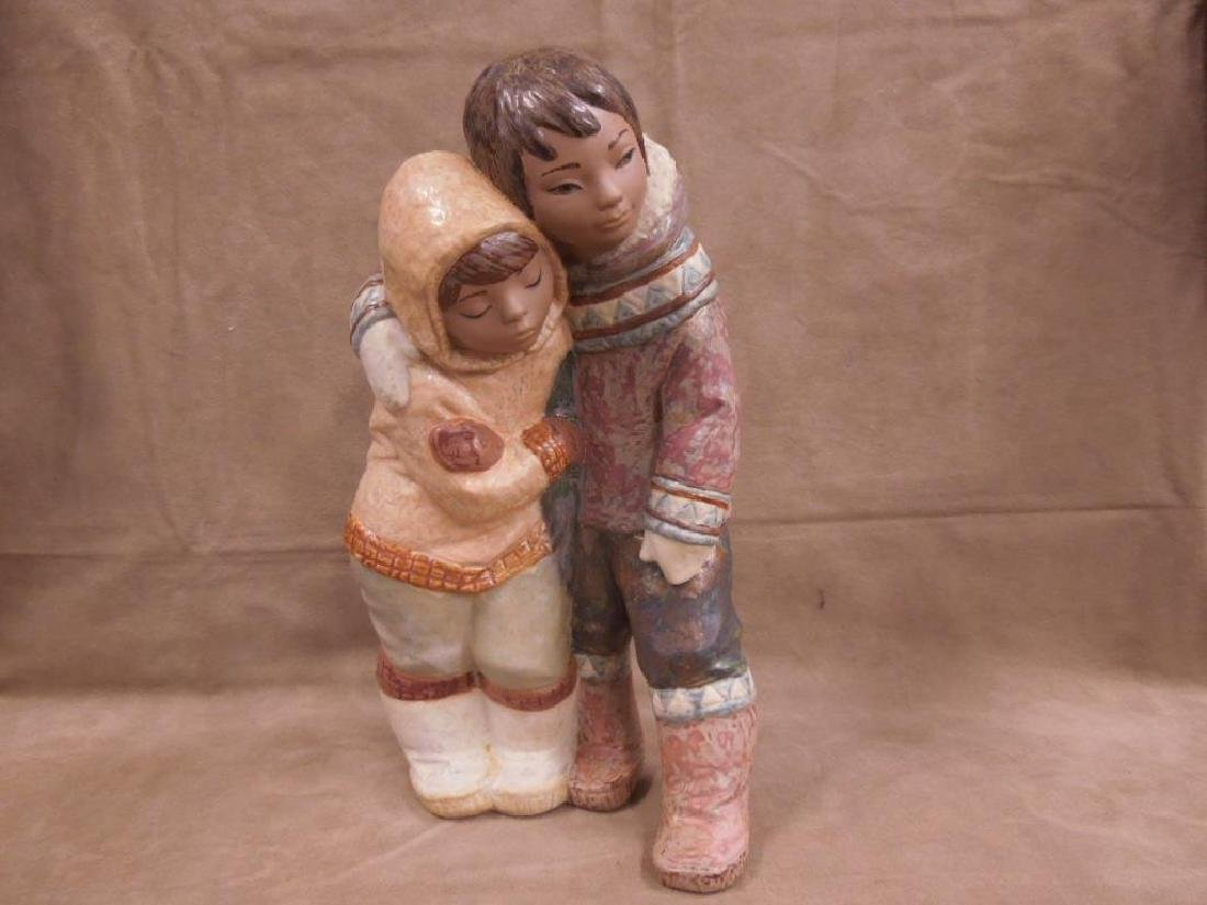 Lladro Porcelain Gres Figurine