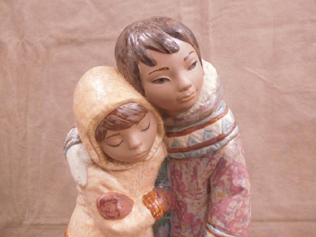 Lladro Porcelain Gres Figurine - 2