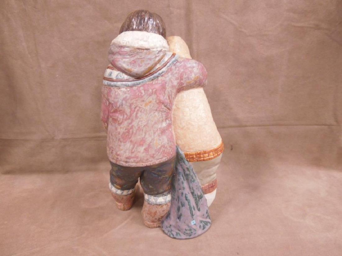 Lladro Porcelain Gres Figurine - 3