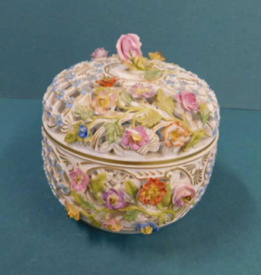 Meissen Covered Jar