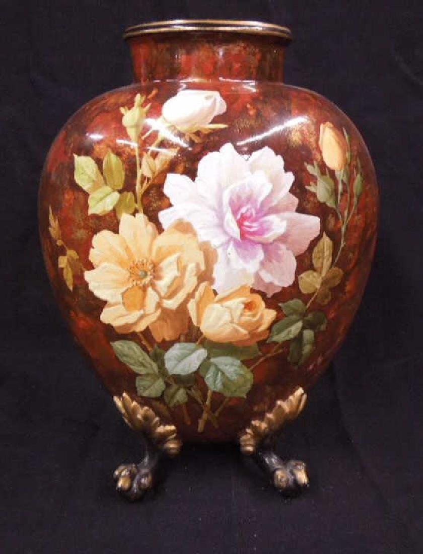 19th C. Continental Porcelain Vase