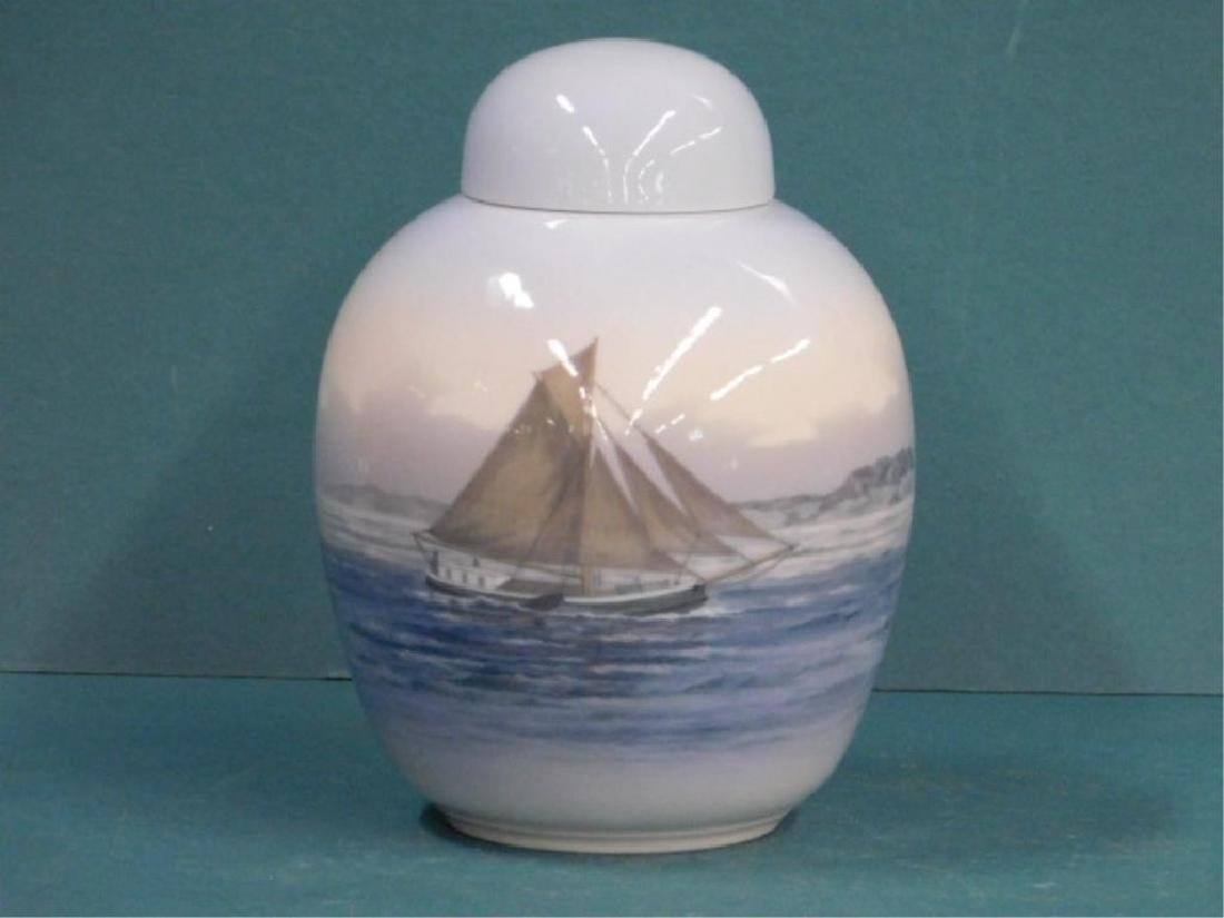 Royal Copenhagen Covered Jar