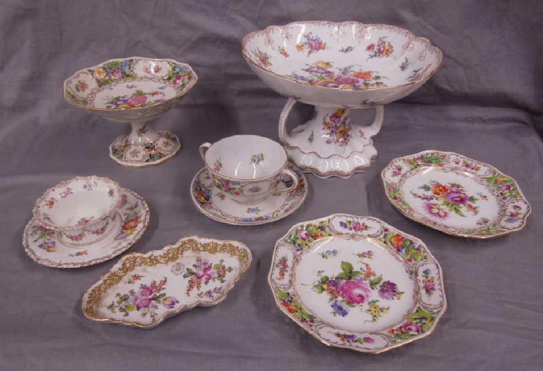 7 pc Dresden Porcelain Group