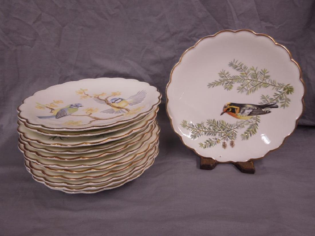 12 Royal Worcester Plates